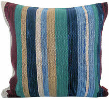 "MISSONI HOME UPHOLSTERY CUSHION COVER 16""x16"" WONDAI T50 JACQUARD FLAMED YARNS"