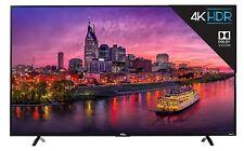 "TCL 55"" 4K Ultra HD Smart LED TV with 120Hz, 3HDMI, 1USB Inputs & Remote - Black"