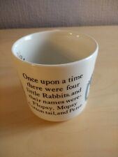 *PETER RABBIT WEDGWOOD CHILDS MUG - VINTAGE - FREDERICK WARNE - UNUSED*