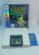 Quest For Camelot Nintendo Gameboy BOXED