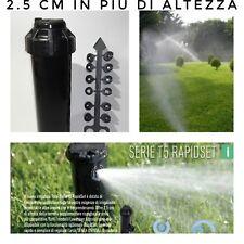 Irrigatore a turbina irrigazione scomparsa giardino prato TORO T5P RS 12 getti