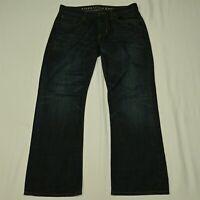 American Eagle 32 x 30 Original Boot Cut Dark Rinse Denim Jeans