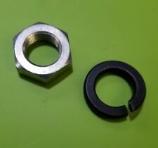 Jeep Manual And Power Steering Pitman Arm Nut And Lock Washer