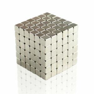 100 PCs 4 × 4 × 3mm  block Neodymium Magnets Rare Earth Magnets