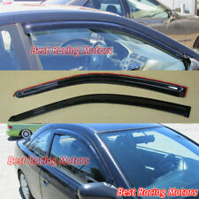 JDM Style Side Window Visors Fits 01-05 Honda Civic 2dr