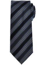 Brioni Tie Silk Blue Gray Stripe 03TI0618 $230