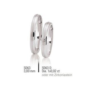 2x JC Trauringe Eheringe Verlobungsringe Partnerringe Silber 925 inklGravur&Etui