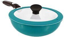 Neoflam Midas Plus 3-piece Ceramic Nonstick Chef's Pan with Detachable Handle, E