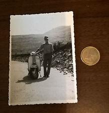 Foto HERR auf LAMBRETTA Motorroller Oldtimer original