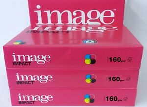 A5, A4 OR A3 160gsm IMAGE IMPACT SMOOTH WHITE CARD. QUALITY PRINTING RESULTS.