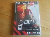 INFERNAL. THIRD PERSON ACTION/SHOOTER GAME FOR THE PC!! NEW AND SEALED!
