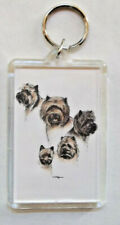 "Cairn Terrier Key Chain ~ 2""x3"" ~ New"