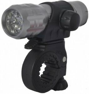 Oxford Ultra Torch 9 LED Alloy Bike Cycle Bicycle Front Light. Hand Torch LD309
