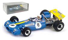 Spark S4341 Brabham BT33 #8 3rd Austrian GP 1971 - Tim Schenken 1/43 Scale