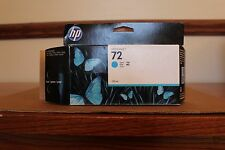 GENUINE HP72  C9371A  CYAN/ OPENED/ DATE OF EXP 06/2015