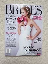 Brides Magazine December 2013 / January 2014 Find The Perfect Dress