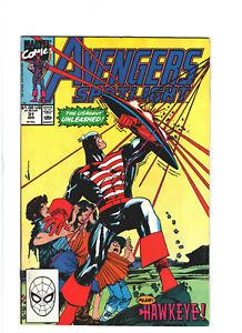 Avengers Spotlight #31 VF 8.0 Marvel Comics Hawkeye & USAgent 1990