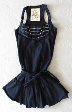 LN Miss Sixty Black Club Wear Dress Size Small Made in Italy Sundress Hippie