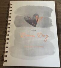 WEDDING PLANNER BOOK ORGANISER GIFT PRESENT WEDDING PREPARATION NOTE MAKING