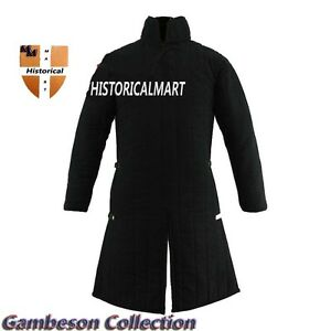 Medieval Gambeson Thick Padded costumes suit of armor for theater- larp / sca