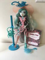 Monster High Haunted Student Spirits Vandala Doubloons Doll With Accessories
