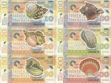 Pacific Ocean Set 6 banknotes 1-6 dollars 2016 Medusa UNC Private issue