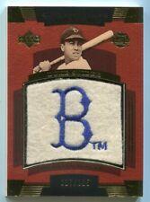 Duke Snider 2004 Sweet Spot Classic Patch #'ed 017/125 Brooklyn Dodgers