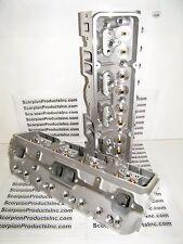 SBC Aluminum Heads 64cc 327 350 383 Angle Plug Bare Heads Free Shipping