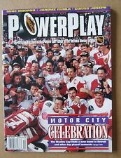 NHL PowerPlay Magazine 1997 Featuring Motor City Celebration Red Wings &The Cup