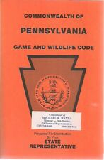 GAME & WILDLIFE CODE Commonwealth of Pennsylvania (1987) 100+ page SC