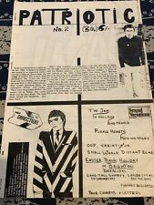 More details for patriotic modzine - number 2 - mod/gigs/fashion/interviews
