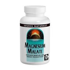 Magnesium Malate, 1250mg x 360Tabs, Source Naturals, Uk Stocks, 24Hr Dispatch