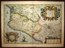 NOUVELLE ESPAGNE FLORIDE, par Abraham ORTELIUS 1579 carte geographique ancienne