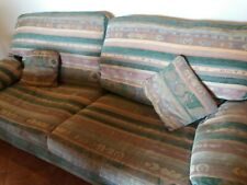 Large 3 seater couch - aztec print