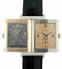 JAEGER LECOULTRE REVERSO WG/RG  DUO FACE NIGHT & DAY LIMITED EDITION 117 v 250