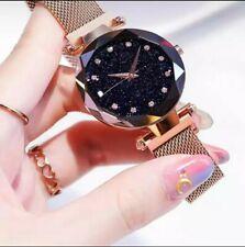 Reloj de Mujer,ros gold watch  for women.pulsera magnetica elegantes MODA