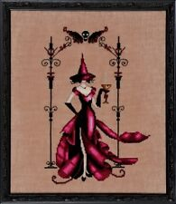 """SALE! COMPLETE XSTITCH KIT """"ZENIA NC223"""" Bewitching Pixies by Nora Corbett"""