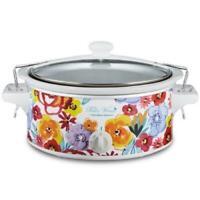 Pioneer Woman 6 qt Portable Slow Cooker Crock Pot Vintage Floral
