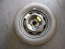 PEUGEOT 307 2004 SPARE STEEL WHEEL & TYRE 4 STUD 195/65 R15 BRIDGESTONE