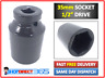 "35mm Deep Impact Socket 1/2"" Drive Hex 6 point Hub Nuts / Flywheel etc. NEW #8-8"