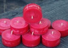 10pk 120hr/pack CHRISTMAS FRANKINCENSE Strong Scented ECO SOY TEA LIGHT CANDLES