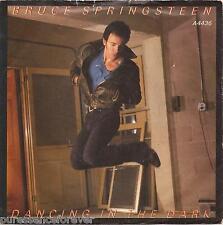"""BRUCE SPRINGSTEEN - Dancing In The Dark (UK 2 Tk 1984 7"""" Single PS)"""