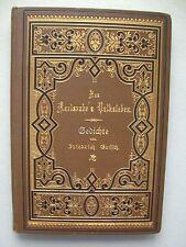 Aus Karlsruhe's Volksleben Gedichte von Friedrich Gutsch 1889 Karlsruhe