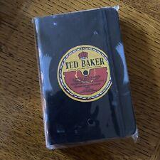"Mens Ted Baker ""Little Black Book"" A6 Size Address Book"