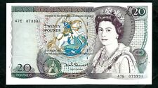 More details for bank of england (p380d) 20 pounds somerset 1984 xf