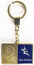 New listing Tokyo 2020 Olympic Keychain Pictogram Sports Climbing Official Merchandise