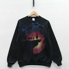 Vintage 90s Alaska High Neck Sweatshirt Vtg 1990s Tourist Deer Sweater Memorabilia Men/'s Large Free Shipping