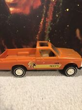 Vintage Gay Toys Chevrolet Luv Sport 4x4 Orange Plastic Truck