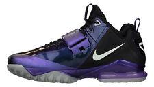 NEW NIKE CJ,CALVIN JOHNSON PURPLE+BLACK,GLOW IN THE DARK FOOTBALL SHOES,SNEAKERS