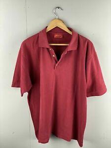 Regatta Sport Men's Short Sleeve Polo Shirt - Size XL Burgundy